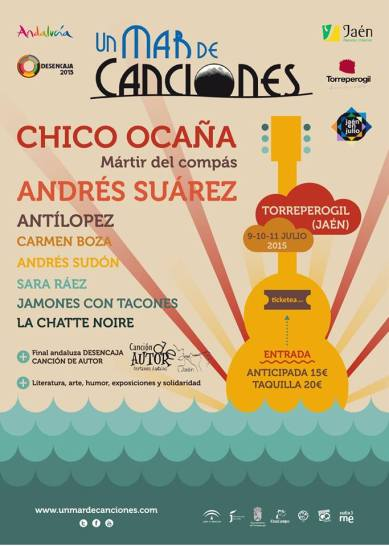CARTEL UN MAR DE CANCIONES 2015