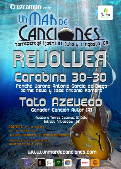 cartel_un_mar_de_canciones 2009